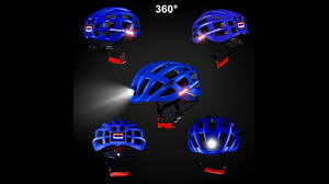 Rockbros Helmet With Lights Rockbros Cycling Helmet With Light For Day And Night