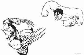Hulk vs hulkbuster stl files 3d printing. Printable Wolverine Coloring Pages For Kids
