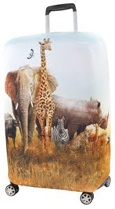 Чехол для чемодана <b>RATEL Animal</b> Madagascar L — купить по ...