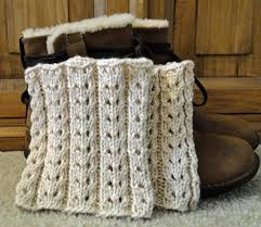 Boot Cuff Pattern Adorable Eyelet Ivory Boot Cuffs Knitting Patterns And Crochet Patterns
