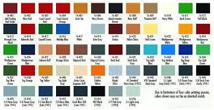 Awlcraft Color Chart Bedowntowndaytona Com