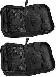 EXCEART <b>2 PCS Fingertip Pulse</b> Storage Bag Case Portable Blood ...