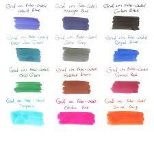Graf Von Faber Castell Ink Ink Bottle 10 Colors