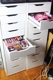 most seen images in the beautiful makeup storage units design ideas gallery