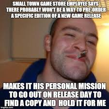 Good guy game store employee - Imgflip via Relatably.com