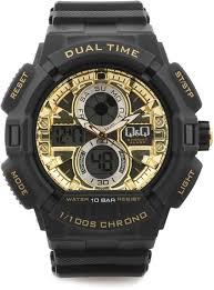 q q gw81j003y analog digital watch for men buy q q gw81j003y q q gw81j003y analog digital watch for men