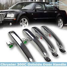 chrysler 300 300c dodg magnum charger outside door handle 1 set 4 pcs 2005 2010