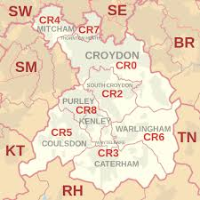 Image result for map of Thornton Heath, CR7
