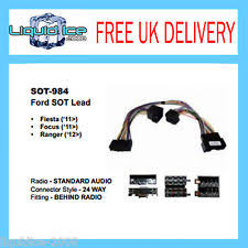ford fiesta wiring looms sot 984 ford fiesta 2011 onwards telemute parrot sot harness wiring adaptor lead