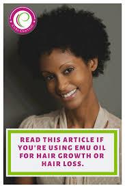 using emu oil for hair loss or hair