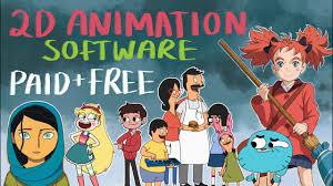 2d animation software paid and free