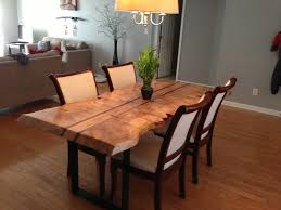 raw edge dining table. Raw Edge Dining Table Contemporary Remarkable 63 For Decor Inspiration With Inside 14