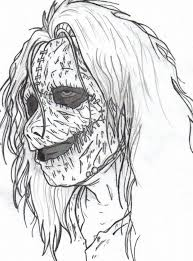 Small Picture Scary Coloring Pages for Adults Coloring Pages Kids