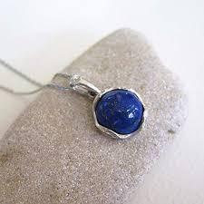 925 Sterling Silver Lapis Lazuli Necklace - Dainty ... - Amazon.com