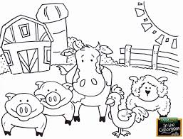 Print a set of farm animals flashcards, or print some for you to colour in and write the words! Printable Farm Animal Coloring Pages Elegant Pin By Caiah Wagner On Agriculture Farm Animal Coloring Pages Animal Coloring Books Farm Coloring Pages