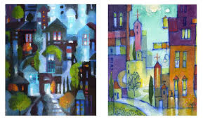 Switching Gears From Painting To Art Quilts   Hue Bliss: Color ... & 2 color sketches for a new large art quilt,