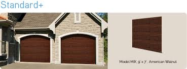 walnut garage doorsStandard  Residential Garage Doors Manufacturers  Garaga