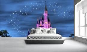 disney wallpaper for bedrooms. disney castle wall murals wallpaper for bedrooms s