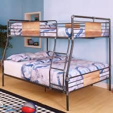 King Size Bunk Bed Images Make Padded Headboards For Photo With Fabulous Loft  Bed Queen Underneath Bunk Plans Travel Trailer Beds Turn A Into Over Size  Que