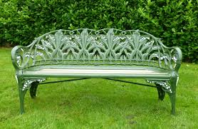 original antique coalbrookdale benches are fully refurbished here in our works in the uk