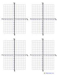Individual Graph Paper Labeled Graph Paper Worksheet Fun And Printable