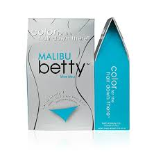 Betty Beauty Malibu (Aqua Blue) Betty - Color For The Hair Down There