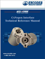 encoder installation and trouble shooting canopen interface technical reference manual