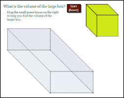 volume equation cube. this activity presents a simple rectangular box and supply of cube-shaped blocks sufficient to fill it. the focus is on filling space volume equation cube