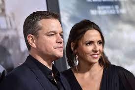 Matt Damon: Er sitzt mit seiner Familie ...