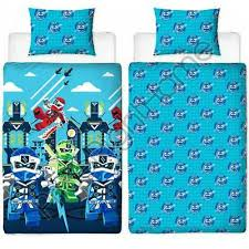 lego ninjago lightning single duvet