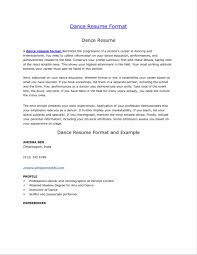 Useful Musical Audition Resume Format With Additional Free Acting