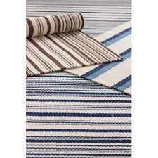 dash and albert rugs woven captain stripe navy ivory indoor outdoor rug rdb161 8511