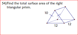What Is Prism What Is The Total Surface Area Of The Right Triangular Prism Socratic
