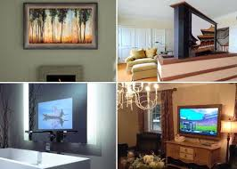 Hide your tv Big When First Opened Our Custom Installation Showroom Back In 1995 Chose Location Right Next Door To Custom Home Decorator Nonagonstyle Ways To Hide Your Tv In Plain Sight Sound Vision
