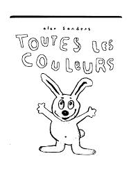 Coloriage Lulu Le Lapin L L L L L L L L L