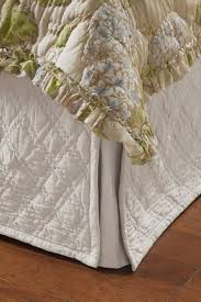 39 best Bedskirt images on Pinterest | Beautiful bedrooms ... & Diamond Quilted Bedskirt - Quilted Queen Bedskirt, Diamond King Bedskirt |  Soft Surroundings Adamdwight.com