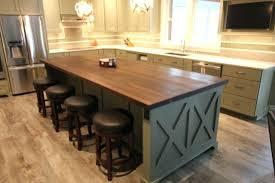 walnut butcher block countertops black astounding interiors with white cabinets