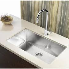 30 Inch Zero Radius Stainless Steel Undermount Single Bowl Kitchen
