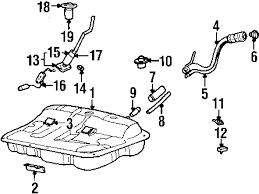 parts com® hyundai sonata fuel system components oem parts 2002 hyundai sonata lx v6 2 7 liter gas fuel system components