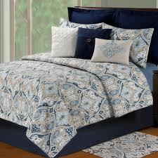 Nazima Ogee Paisley Quilt Bedding &  Adamdwight.com
