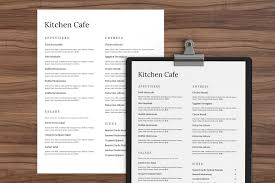 Free Catering Menu Templates For Microsoft Word Excited To Share The Latest Addition To My Etsy Shop
