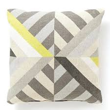 striped outdoor pillows triangle stripes indoor outdoor pillow frost gray west elm target striped outdoor pillows striped outdoor pillows
