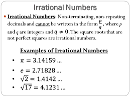 Integrated Mathematics Real Numbers Rational Numbers
