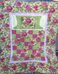 Lap Quilt With Pockets To Keep Hands Warm Or Even Hide Snacks ... & lovie lap quilt with pockets floral fabric Adamdwight.com