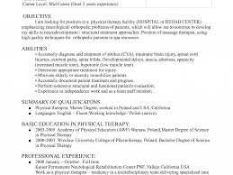 Pretty Ideas Physical Therapy Resume 10 Physical Therapist Resume ...