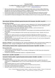 Sample Sap Functional Consultant Cover Letter Enom Warb Ideas Of