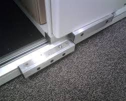 fsh db1260 slimline drop bolt installed into custom mounting boxes to secure files in compactus