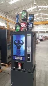 Protein Vending Machine Cool Ready To Drink Protein Shake Vendor Supplement Vending Machine