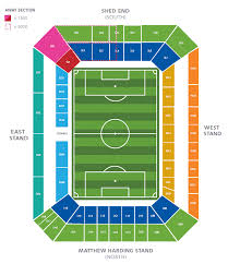 Uk Football Stadium Seating Chart Seating Plan Official Site Chelsea Football Club