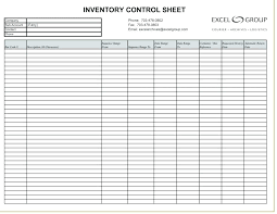 Inventory Template Sample